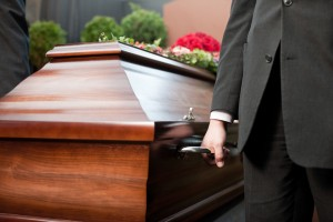 funeral of someone that suffered a wrongful death